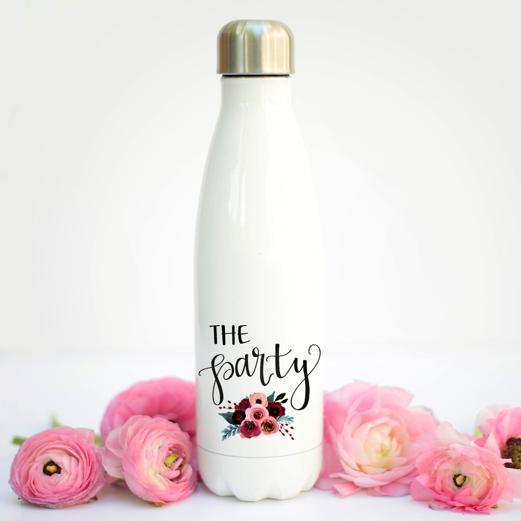 The Party Water Bottle, Bachelorette Party Water Bottles, Bachelorette Party Gifts