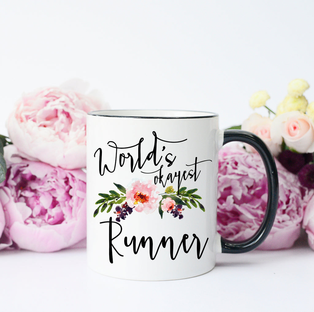 World's Okayest Runner Mug