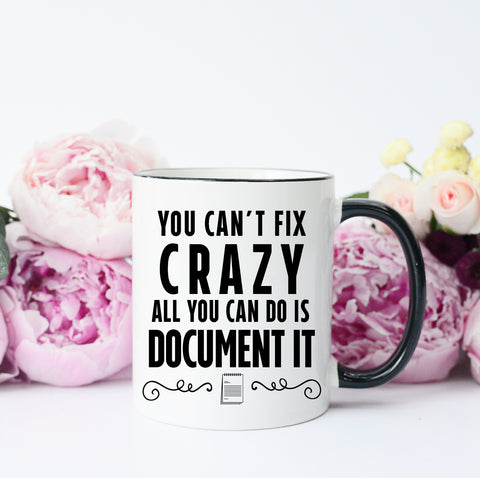 You Can't Fix Crazy Mug
