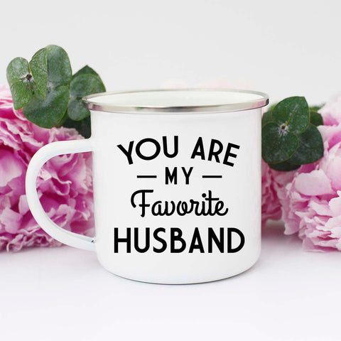 You're My Favorite Husband Mug, Valentine's Gift for Hubby