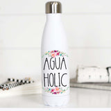 Funny Water Bottle, Pretty Water Bottle, Gift for Gym Rat