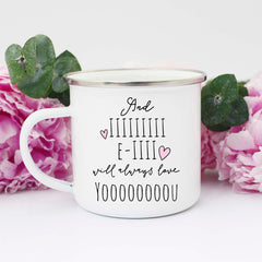 And I Will Always Love you Mug, Valentine's Mug, Cute Mug for Valentine's Day