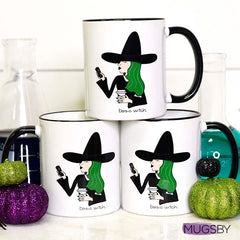 basic witch coffee mugs