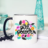 Girl Power Mug, Feminism, The Future is Female, Girl Power