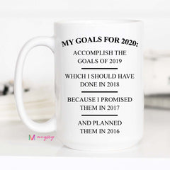 My Goals of 2020 Mug Copy