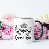 Queen Bee Mug, Queen Mug, Motivational Mug