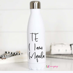 Funny water bottle saying