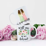 Bridesmaid Proposal Mug, Bridesmaid Proposal Idea, Personalized Bridesmaid Mug