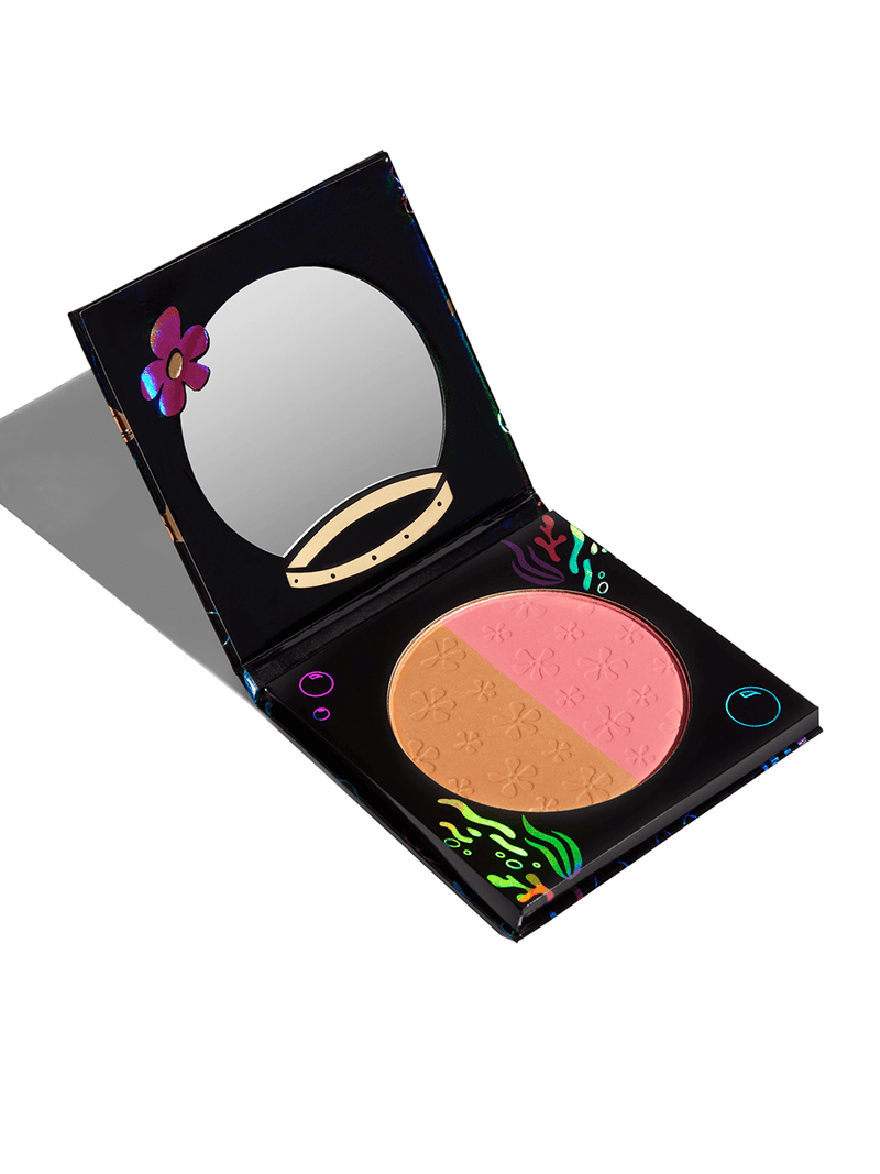 Spongebob Hipdot makeup Sandy Cheeks blush bronzer palette