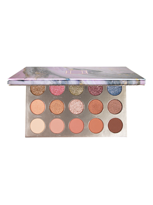 Hipdot Elle Palette Nude neutral soft smoky eye palette