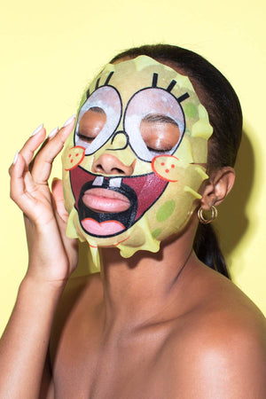 Spongebob Sheet Mask Hipdot