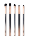 5 Piece Eye Brush Set w/Pouch
