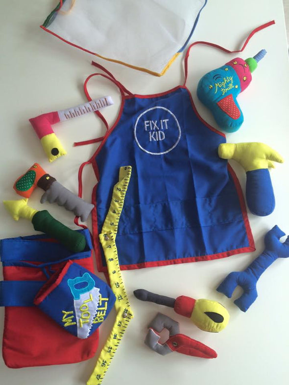 Tool Belt, Cloth Books, Dyles, Little Toy Lane - Little Toy Lane