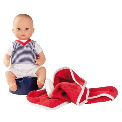 Götz Aquini Boy 33cm Bath Baby, Educational Dolls, Gotz, Little Toy Lane - Little Toy Lane