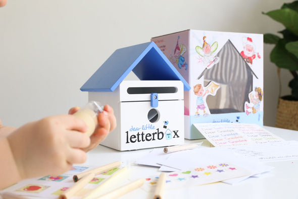 Letterbox with writing kit, , Dear Little Designs, Little Toy Lane - Little Toy Lane