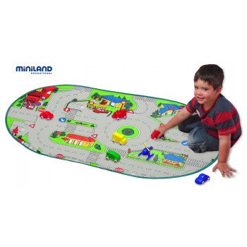 Miniland Mobil Traffic Mat, Learn & Explore, Miniland, Little Toy Lane - Little Toy Lane