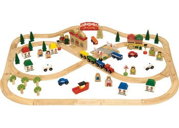 Big Jigs - Town and Country Train Set, Build it, Big Jigs, Little Toy Lane - Little Toy Lane