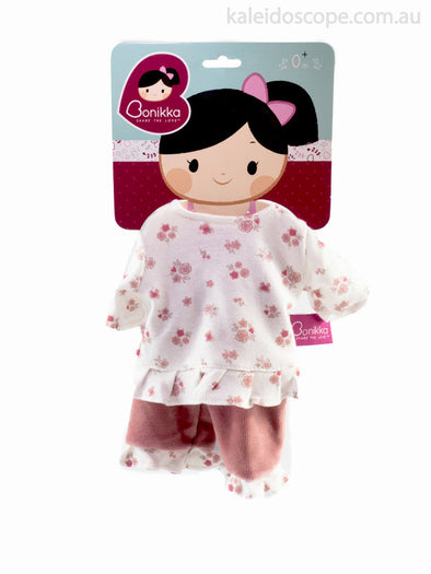 Bonikka Doll's Pyjama Set 35cm, Cloth Doll, Bonikka, Little Toy Lane - Little Toy Lane