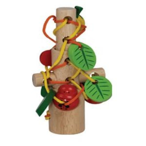 Nest & Lace Sticks, Learn & Explore, Wonderworld, Little Toy Lane - Little Toy Lane