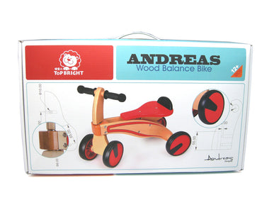 Wooden Balance Quadbike, Balance Bikes, Eleganter, Little Toy Lane - Little Toy Lane
