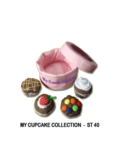 Cupcake Collection, Cloth Books,Learn & Expore, Dyles, Little Toy Lane - Little Toy Lane