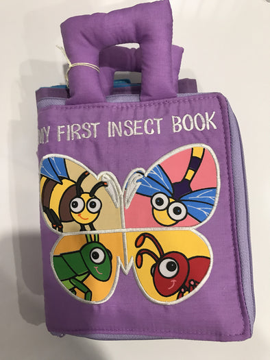 My First Insect Book With Playmat, Cloth Books, Dyles, Little Toy Lane - Little Toy Lane