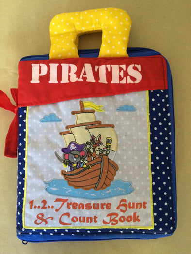 Pirates Book, Cloth Books, Dyles, Little Toy Lane - Little Toy Lane
