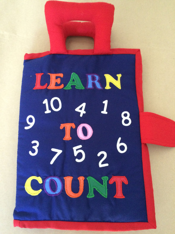 Learn to Count, Cloth Books, Dyles, Little Toy Lane - Little Toy Lane