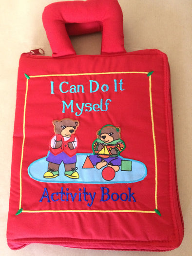 I can do it myself cloth book- I can do it myself, Cloth Books, Dyles, Little Toy Lane - Little Toy Lane