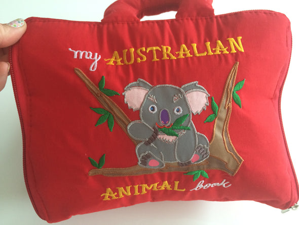 Australian Animal Learn to Count Book, Cloth Books, Dyles, Little Toy Lane - Little Toy Lane