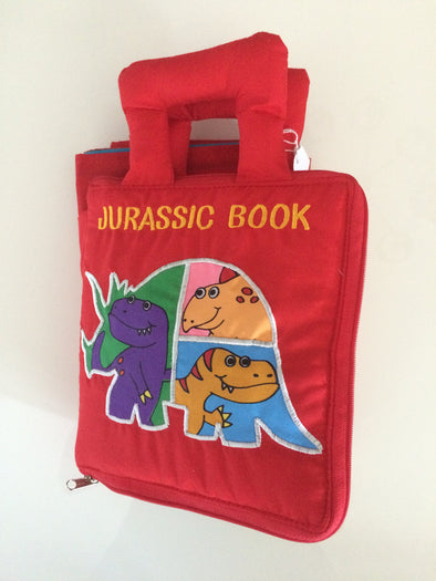 Jurassic Book with Play Mat, Cloth Books, Dyles, Little Toy Lane - Little Toy Lane