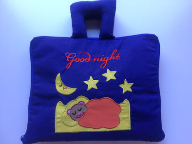 Goodnight Book Bag, Cloth Books, Dyles, Little Toy Lane - Little Toy Lane