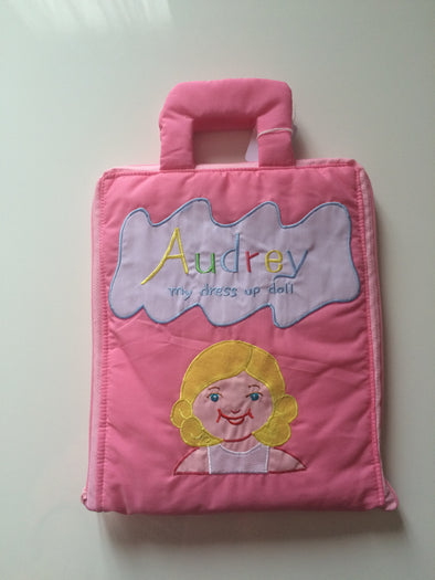 Audrey Dress up Bag, Cloth Books, Dyles, Little Toy Lane - Little Toy Lane
