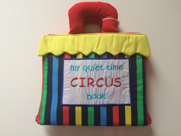 My Quiet Circus Book (Backorder only- Due 30th December), Cloth Books, Dyles, Little Toy Lane - Little Toy Lane