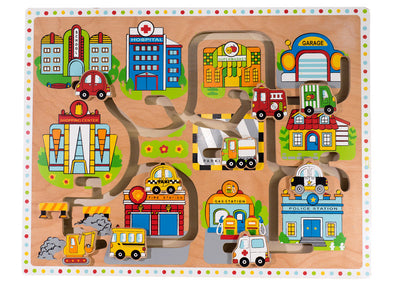 Large Maze Puzzle, Puzzles, Kaleidoscope, Little Toy Lane - Little Toy Lane