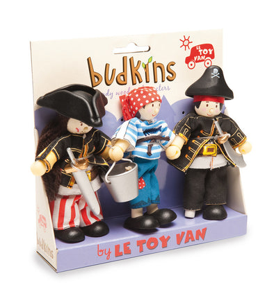 Pirate Triple Budkin Set, Dolls Houses, Kaleidoscope, Little Toy Lane - Little Toy Lane