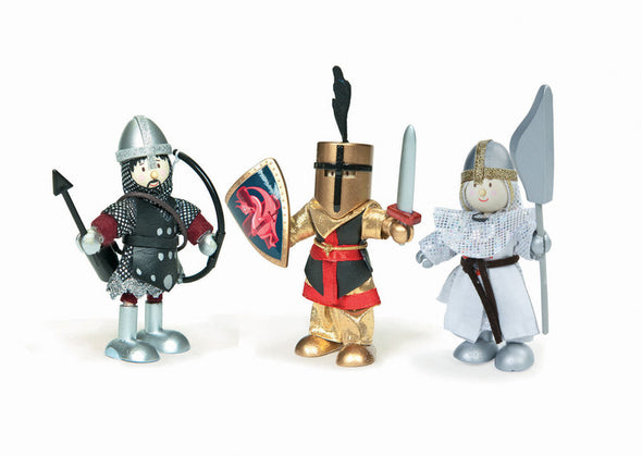 Budkin Knights Triple Set, Learn & Explore, Le Toy Van, Little Toy Lane - Little Toy Lane