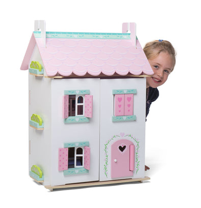 Sweetheart Cottage with Furniture, Dolls Houses, Kaleidoscope, Little Toy Lane - Little Toy Lane