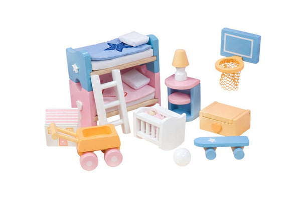 Sugar Plum Children's Room, Dolls Houses, Kaleidoscope, Little Toy Lane - Little Toy Lane