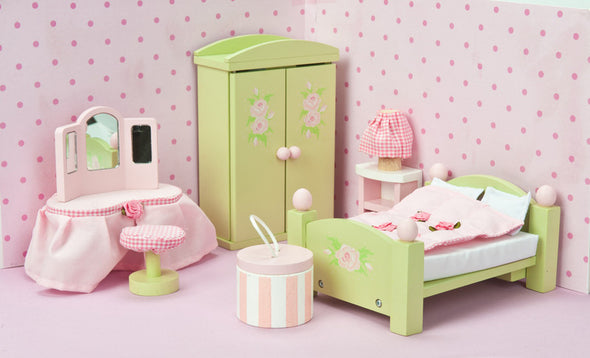 Daisy Lane Master Bedroom, Dolls Houses, Le Toy Van, Little Toy Lane - Little Toy Lane