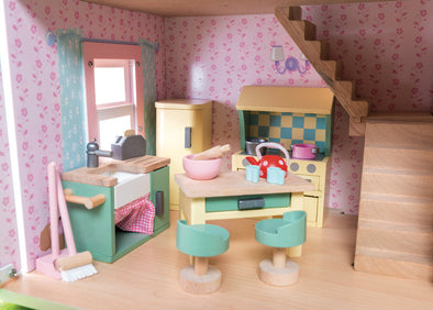 Daisy Lane Kitchen, Dolls Houses, Le Toy Van, Little Toy Lane - Little Toy Lane