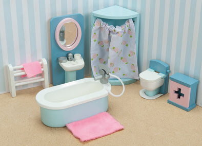 Daisy Lane Bathroom, Dolls Houses, Le Toy Van, Little Toy Lane - Little Toy Lane