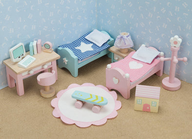 Daisy Lane Child's Bedroom, Dolls Houses, Le Toy Van, Little Toy Lane - Little Toy Lane