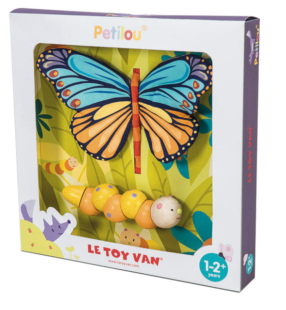 Caterpillar to Butterfly, Learn & Explore, Petilou, Little Toy Lane - Little Toy Lane