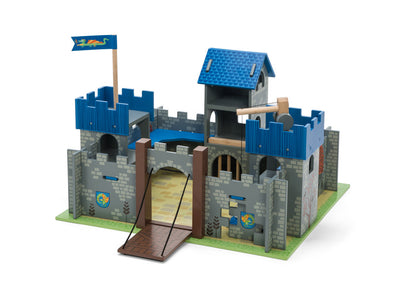 Excalibur Castle Blue, Learn & Explore, Le Toy Van, Little Toy Lane - Little Toy Lane