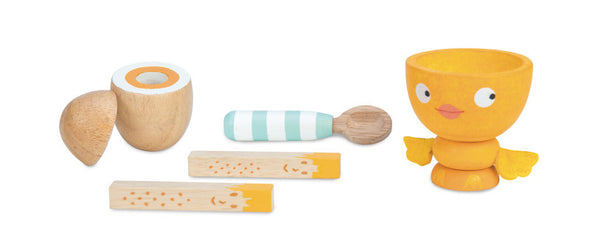 Honeybake Chicky-Chick Egg Cup Set, Kitchen Play, Le Toy Van, Little Toy Lane - Little Toy Lane