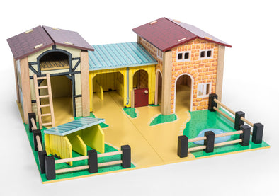 The Farmyard Set, Dolls Houses, Kaleidoscope, Little Toy Lane - Little Toy Lane