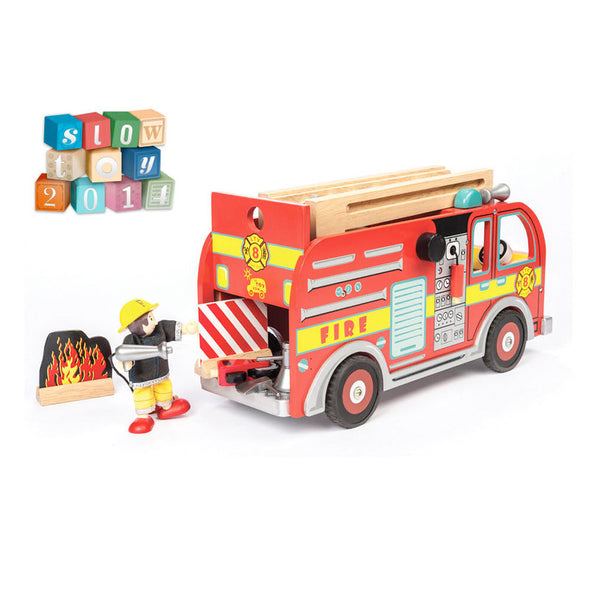 Fire Engine Set, Build it, Le Toy Van, Little Toy Lane - Little Toy Lane