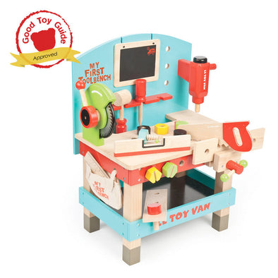 My First Tool Bench, Build it, Le Toy Van, Little Toy Lane - Little Toy Lane