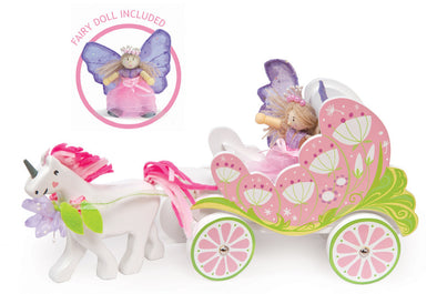 Fairybelle Carriage & Unicorn, Dolls Houses, Le Toy Van, Little Toy Lane - Little Toy Lane